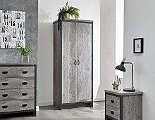 Home Source Bedroom Furniture Set Wardrobe Chest