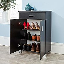 Home Source Cabinet Storage Hallway Cupboard Shoe