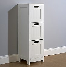 Home Source - Colonial Bathroom Slim 3 Chest of