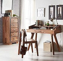Home Source Contemporary Desk Workstation Office
