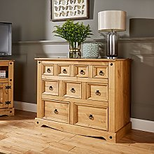 Home Source Corona Chest of Drawers Pine Sideboard