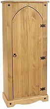 Home Source Corona Storage Cupboard Solid Pine