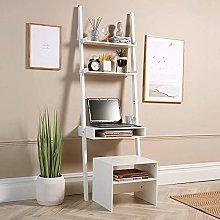 Home Source Desk Unit Home Office Shelving Storage