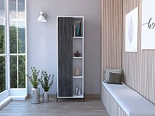 Home Source Display Storage Cabinet Cupboard with