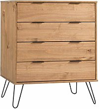 Home Source Industrial Chest of Drawers Cabinet