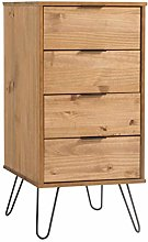 Home Source Industrial Chest of Drawers Narrow