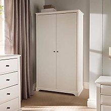 Home Source Large Double Wardrobe Cupboard Bedroom