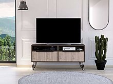 Home Source Large TV Stand Entertainment Cabinet 2