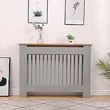 Home Source Oak Top Radiator Cover Wooden Wall