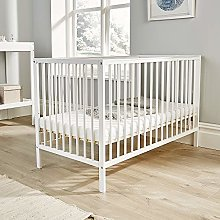Home Source Pine Baby Cot Nursery Wooden Cotbed 3
