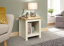 Home Source Side Lamp Table Bedside Cabinet