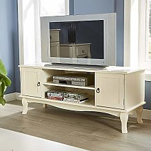 Home Source TV Stand French Inspired Sculpted Legs