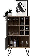 Home Source Wine Rack Drinks Storage Cupboard
