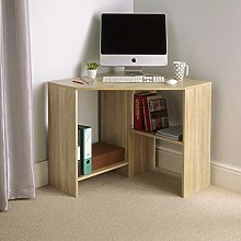Home Source Wooden Corner Computer Home Office PC