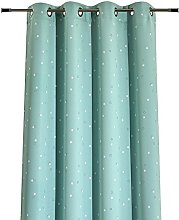 Home Style French Curtain, Polyester, green,
