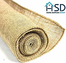 Home Supplies Direct 50cm x 5M Hessian Roll Table