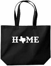 Home Texas County Map Funny Tote Shopping Gym