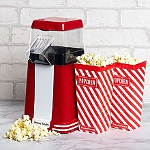 Home Treats Electric Popcorn Maker with Popcorn