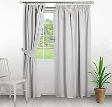 Home Treats Pencil Pleat Curtains Thermal Blackout