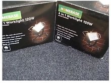 HOMEBASE 4-in-1 120W WORKLIGHT FLOODLIGHT