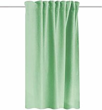 HOMEbasics THERMAL CURTAIN WITH COMBLE BAND