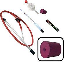 Homebrew Accessory Kit Siphon, Hydrometer, Airlock