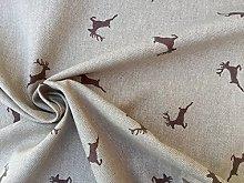HomeBuy DEER Fabric - Curtain Upholstery Material