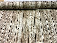 HomeBuy FLOORBOARD WOOD PLANK Curtain Upholstery
