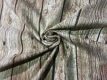 HomeBuy FLOORBOARD WOOD PLANK Curtain Upholstery