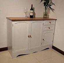 Homecharm-Intl 110x40x78 CM Wooden storage cabinet