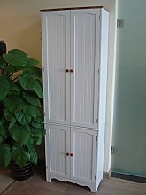 Homecharm-Intl 60.5x30x183.5CM Wooden storage