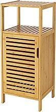 HOMECHO Bathroom Storage Cabinets, Bamboo Floor