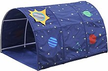 homedecoam Children's Cabin Bed Tunnel Tent