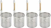 HomeDecTime 4x Stainless Steel Colander With