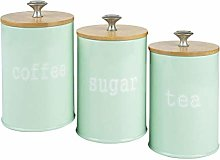 HomeDecTime Kitchen Metal Spice Seasoning Canister