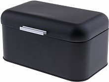 HomeDecTime Metal Kitchen Bread Bin with Hinged