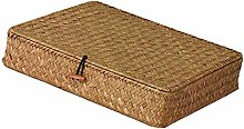 HomeDecTime Natural Handwoven Seagrass Storage