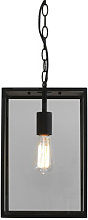 Homefield Pendant - / Glass by Astro Lighting Black