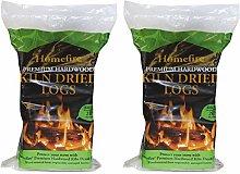 Homefire Kiln Dried Logs, Standard Bag 0.03m3 (2