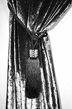 HomeHarmony ® One Single Rope Tie Back Curtain