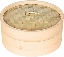Homehome 1PC Chinese Style Bamboo Steamer