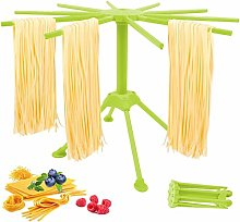 Homemade Pasta Drying Rack with 10 Bar Handles