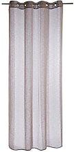 Homemaison Air Net Curtain with Block Stripes