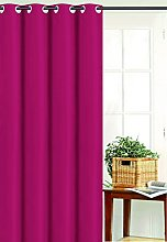 Homemaison Bachette Polyester, Red, 250X135cm