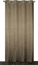 Homemaison Blackout Curtain Crackle, Polyester,