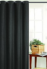 Homemaison Blackout Curtain with Mesh, Polyester,