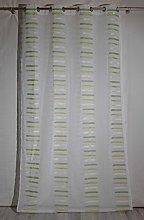 Homemaison Curtain Fantasy Stripe, Polyester,