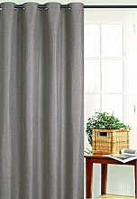 Homemaison Curtain Fireproof, Polyester, Mesh,