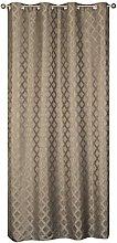 Homemaison Curtain Heavy Jacquard, Polyester,