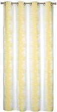 Homemaison Curtain Jacquard àondes Coloured,